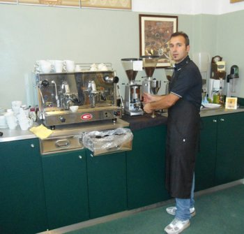 Gourmet offee courses