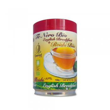English Breakfast Tea +10% Reishi powder