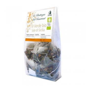 Organic Sun of Sicily green Tea