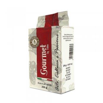 Crema ground coffee in vacuum